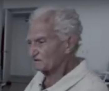 Imagen de un hombre ya mayor, el futuro de todos, Julián Vida